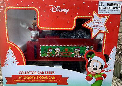 Disney Collector Train Car Series #1 Goofy's Coal Car With 3D Goofy FREE SHIP
