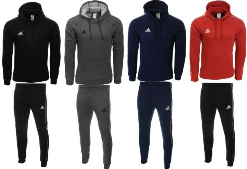 Adidas Core18 Herren Trainingsanzug Jogginganzug Kapuzenjacke Fleece Baumwolle
