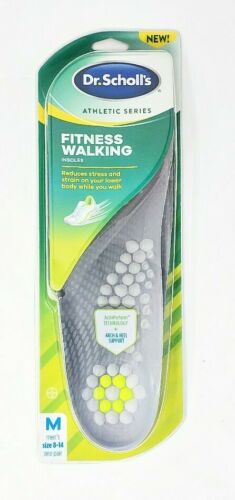 DR. SCHOLL'S ATHLETIC SERIES FITNESS WALKING INSOLES M 8-14