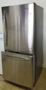 Réfrigérateur LG 19,7 pieds cube avec tiroir congélateur