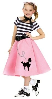 50s Soda Shop Sweetie Child/Toddler Costume Poodle Skirt
