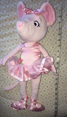 "Madame Alexander 19"" Angelina Ballerina Ballet Mouse Plush Stuffed Animal Doll"