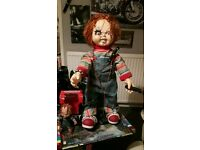 Original childs play .chucky doll 3ft tall from universal studious orlando