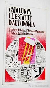 CATALUNYA-I-L-ESTATUT-D-AUTONOMIA-VARIOS