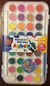 Watercolor Painting Pan Set( 36 Colors) Water Soluble