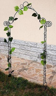 Trellis Rose Archway 80008 Growth Support Climbing H-160 cm Pergola Fence