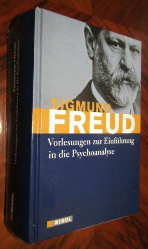 PSYCHOLOGIE Sigmund FREUD Vorlesungen zur Einführung in die Psychoanalyse 2010