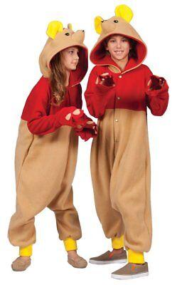 Halloween Onesie Costumes (Honey Bear Kigurumi Onesie Kid S 4-6 Boy Girl Child Hooded Halloween)