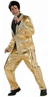 Elvis - Adult Gold Grand Heritage Deluxe Costume