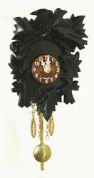 Kuckulino Black Forest Clock with quartz movement and c.. TU 2015 PQ schwarz NEW