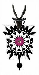 Kuckulino Black Forest Clock with quartz movement and cuckoo ch.. TU 3025 PQ NEW