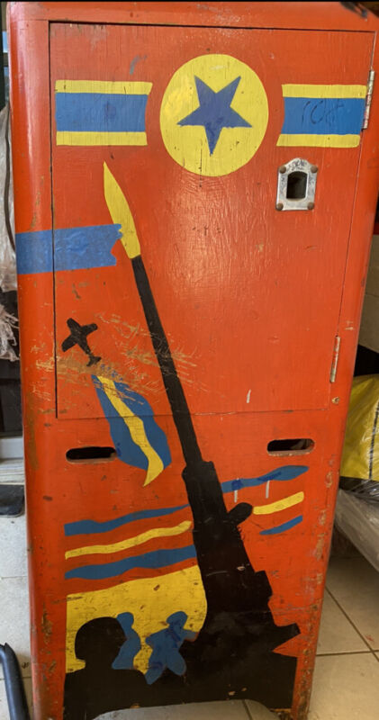 coin operated Genco Sky Gunner 1940s All Original From Coney Island