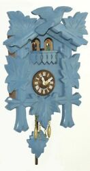 Kuckulino Black Forest Clock with quartz movement and cuck.. TU 2018 PQ blau NEW