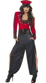 CHERYL COLE SOLDIER FANCY DRESS OUTFIT SIZE 12/14 PARTY OR HEN DO