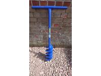 Draper 24414 1050mm Fence Post Auger/fence post hole digger drill corkscrew