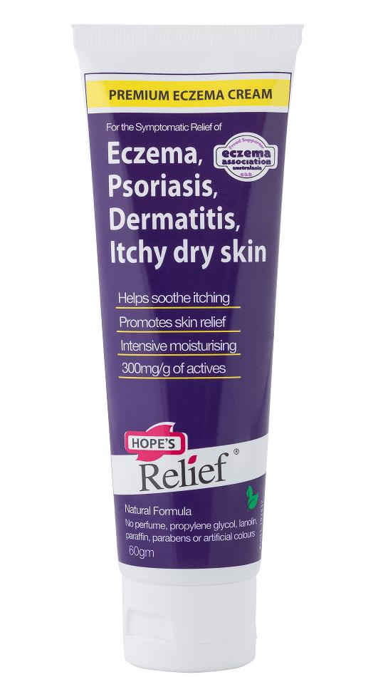 Hope's Relief Moisturiser Lotion Skin Cream Body Gel Eczema