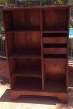 Silky Oak Timber Shelving Unit Broughton Charters Towers Area Preview
