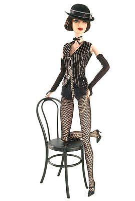 2007 Gold Label Jazz Baby Cabaret Dancer Barbie Doll Brunette - 2007 Gold Label