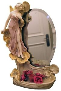 Beautiful-Art-Nouveau-Royal-Dux-Mirror-5983