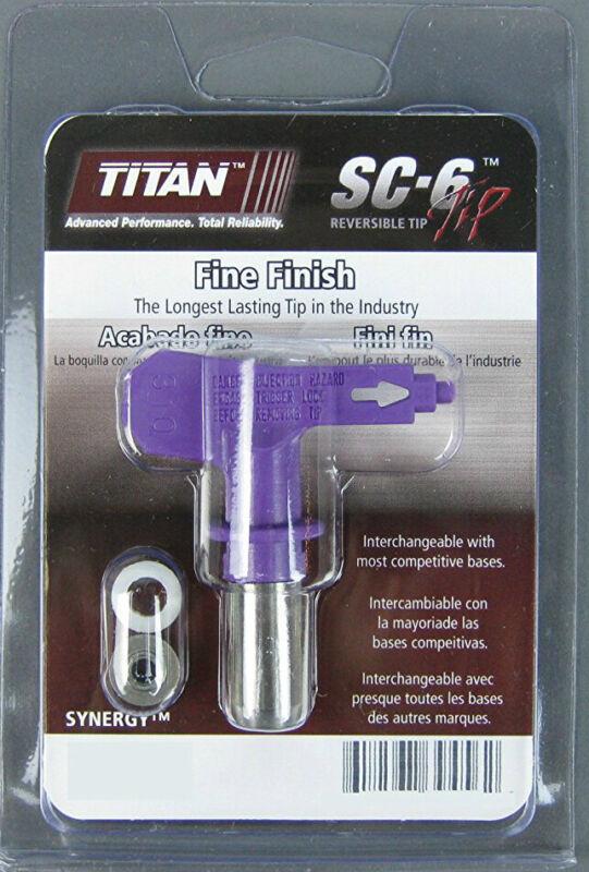 Titan 671-408 Synergy Fine Finish Airless Spray Tip