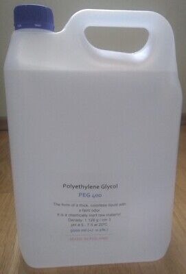 Polyethylene Glycol 400 Peg 400 - 5000 Ml
