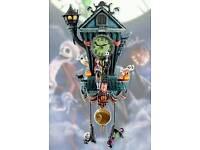 Tim Burton's 'The Nightmare Before Christmas' Wall Clock SEALED RRP £189. 99