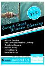 Sunset Coast Window Cleaning Ocean Reef Joondalup Area Preview