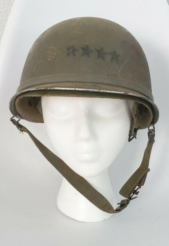 WW2 Helmet Shell reissued for Vietnam with a Vietnam Paratrooper Liner
