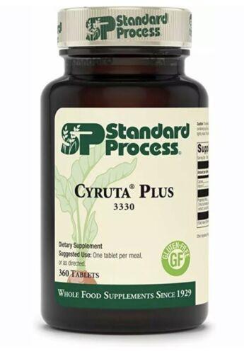 Standard Process Cyruta Plus 330 Tablets 3330 Exp. 4/22 FAST & FRESH