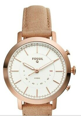 Fossil FTW5007 Q NEELY HYBRID Watch  Woman 36 mm Rose gold;Stainless steel