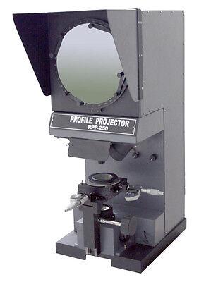 New 250mm Screen Dia Vertical Digital 10 Micron Lc Comparator Profile Projector