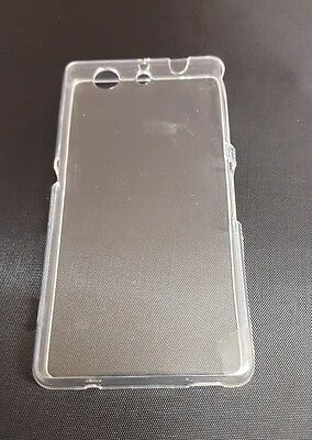 2 x Sony Xperia Z3 Compact Clear Back TPU Gel Cover Case Magnetic Cut Out-Marked segunda mano  Embacar hacia Spain
