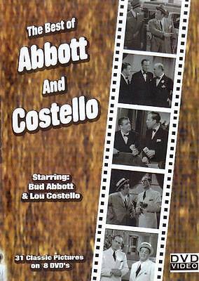 Abbott And Costello 31 Full Length Movies   8 Dvd Set