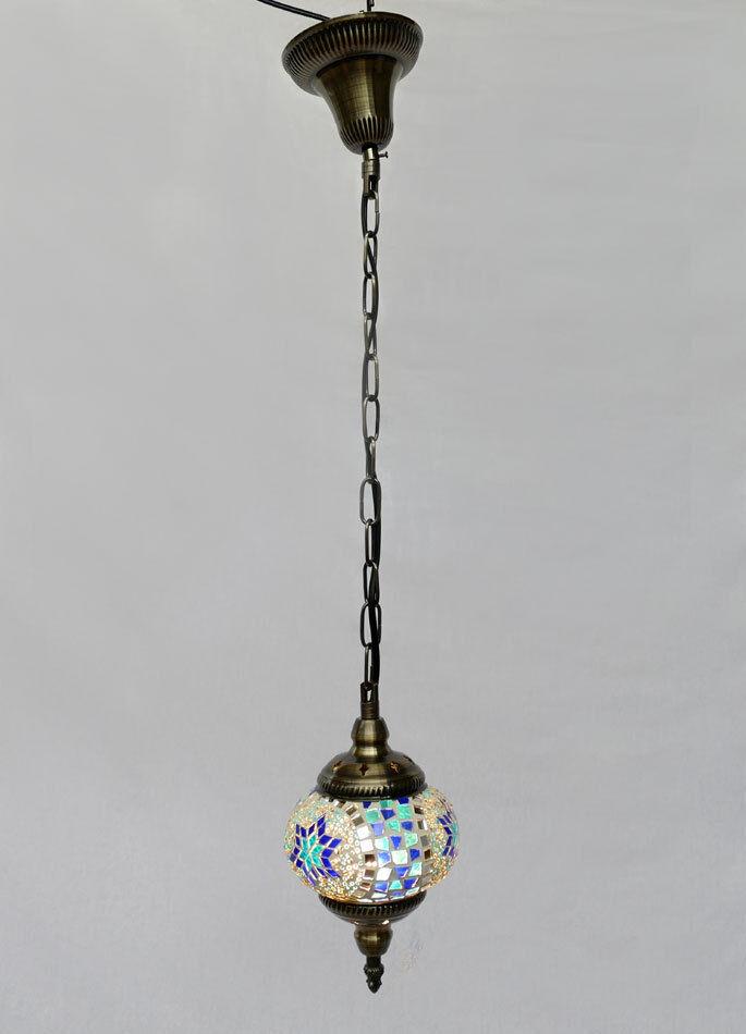 H ngelampe lampe orientalisch istanbul mosaiklampe orient 1001 nacht gl06bl b eur 42 95 for Mosaik lampe orientalisch