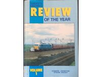RAILWAY BOOK. TODAY'S RAILWAY REVIEW OF THE YEAR (Vol 1 1987) FOR SALE