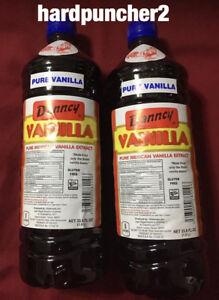 Two Danncy  Mexican Vanilla Dark  (Plastic 1 Liter)