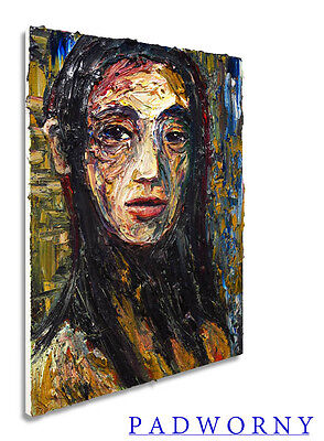 MODERN ORIGINAL OIL PAINTING VINTAGE IMPRESSIONIST ART REALISM SIGNED ABSTRACT A