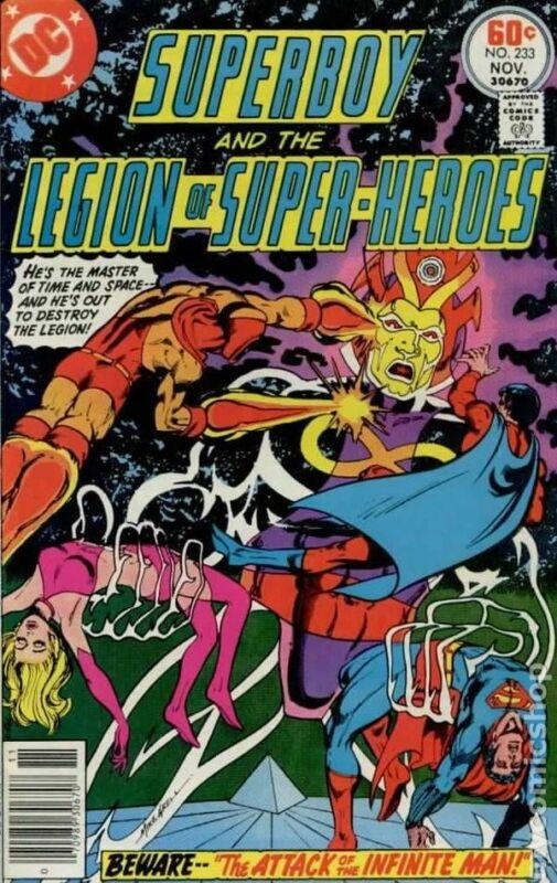 Superboy #233 FN 1977 Stock Image