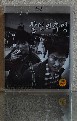 MEMORIES OF MURDER (2003) [Blu-Ray] NEW~ Joon-ho Bong w/English Sub / (Region A)