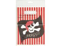 Pirate Party Loot Bags 3 Packs of 8