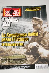 """HISTORICA HORS SERIE N°104 ARDENNES 1944 MAGAZINE 39 45 PHOTOS PROFILS - France - Commentaires du vendeur : """"voir détail de l'annonce"""" - France"""