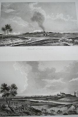 NAPOLEON IENA ERFURTH REDDITION GRAVURE 1838 VERSAILLES R1109 IN FOLIO