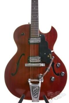 Guild Starfire II 1965 Cherry Red with Bigsby