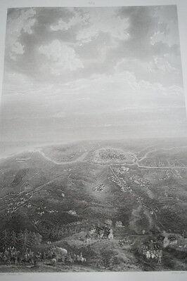 NAPOLEON SIEGE DE DANTZIG GRAVURE 1838 VERSAILLES R1126 IN FOLIO
