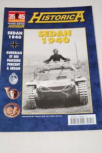 """HISTORICA HORS SERIE N°51 SEDAN 1940 GUDERIAN PANZERS MAGAZINE 39 45 PHOTOS - France - Commentaires du vendeur : """"voir détail de l'annonce"""" - France"""
