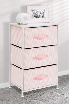 Dressers For Girls Baby Toddlers 3 Drawer Chest Clothes Nursery Storage Organize