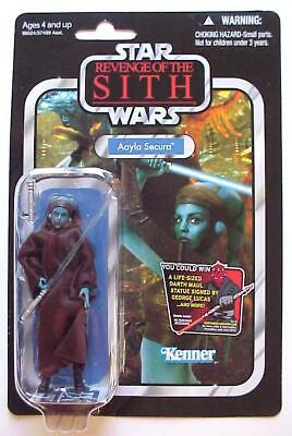 Star Wars ROTS Vintage Collection AAYLA SECURA VC58 2011 C-10 Mint MOMC