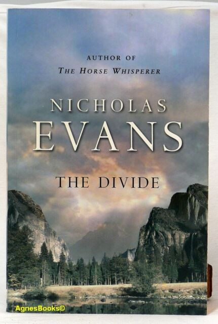 #G, Nicholas Evans THE DIVIDE - Softcover