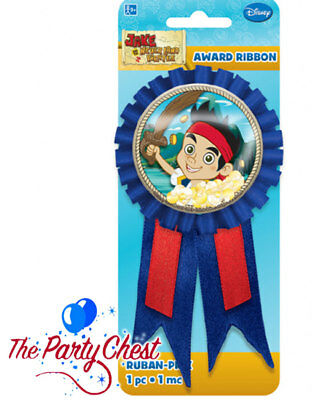JAKE AND THE NEVERLAND PIRATES AWARD RIBBON Kids Birthday Party Bag Treat 97369 (Jake And The Neverland Pirates Ribbon)