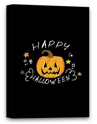 Funny Halloween Office Decorations (Halloween Canvas Wall Art Funny Pumpkin Face Office Home Decor)